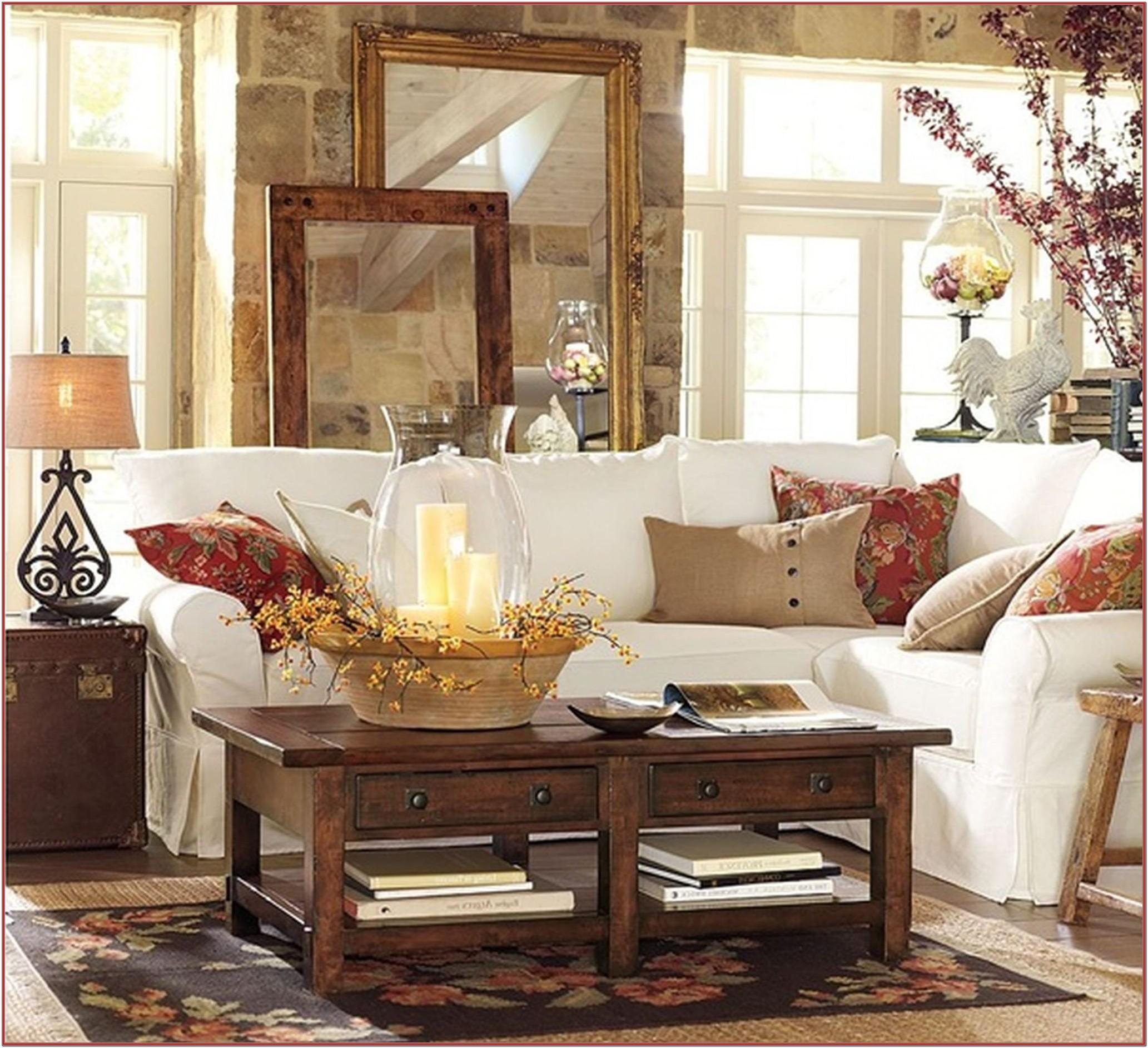 Pottery Barn Living Room Sets