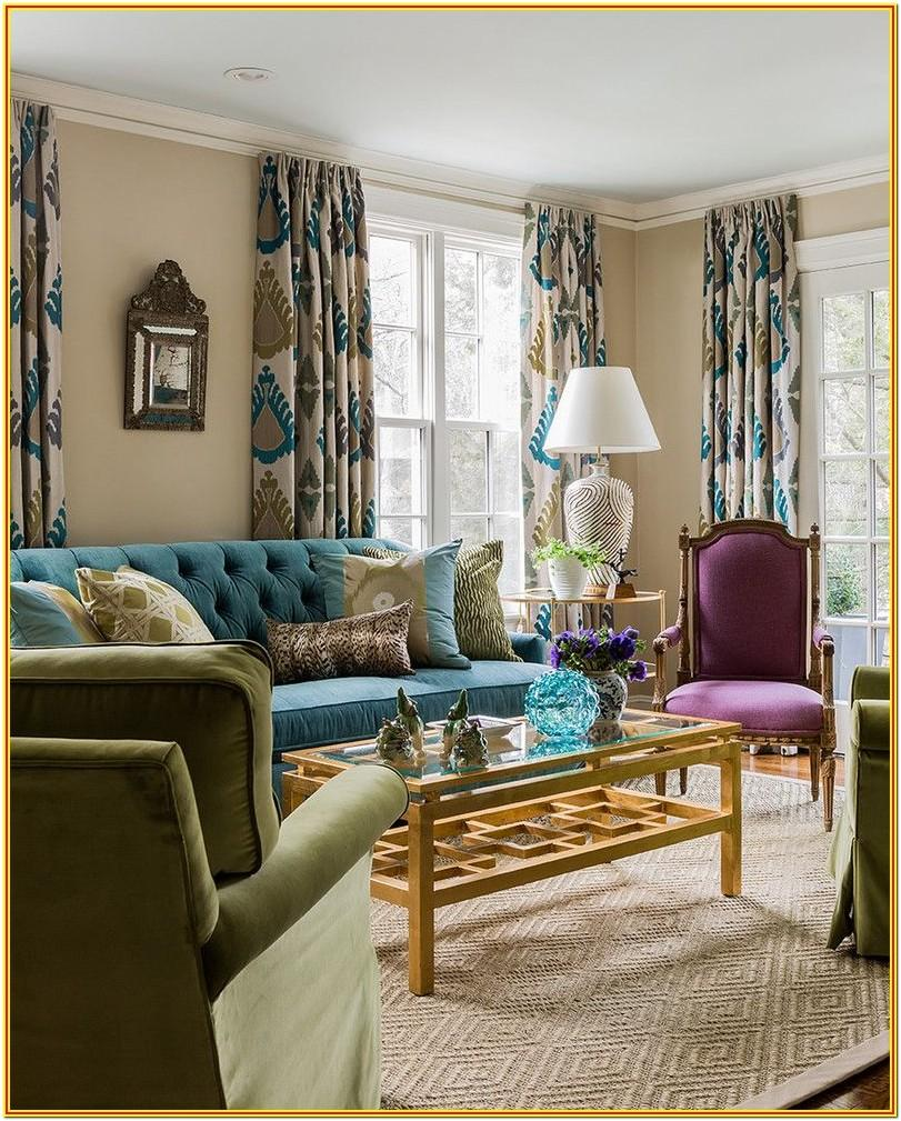 Purple And Teal Living Room Ideas