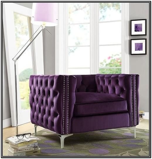 Purple Chairs For Living Room