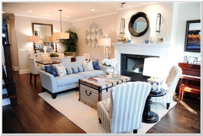 Rectangular Living Room Layout Plan