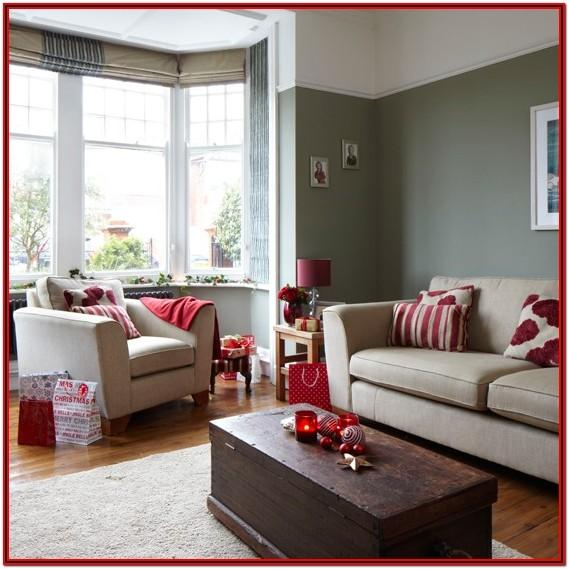 Red Brown And Grey Living Room Ideas