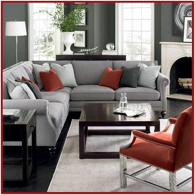 Red White And Grey Living Room Ideas