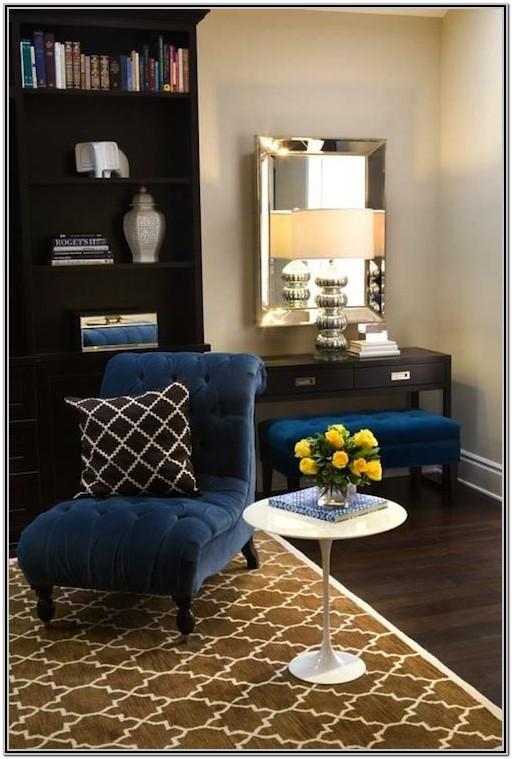 Royal Blue Living Room Decor