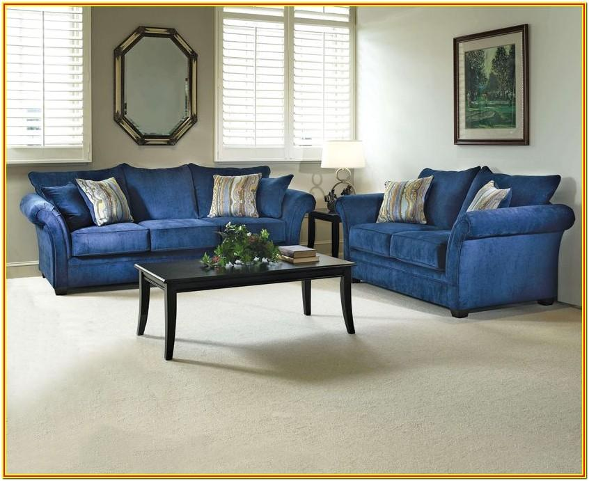 Royal Blue Living Room Sets