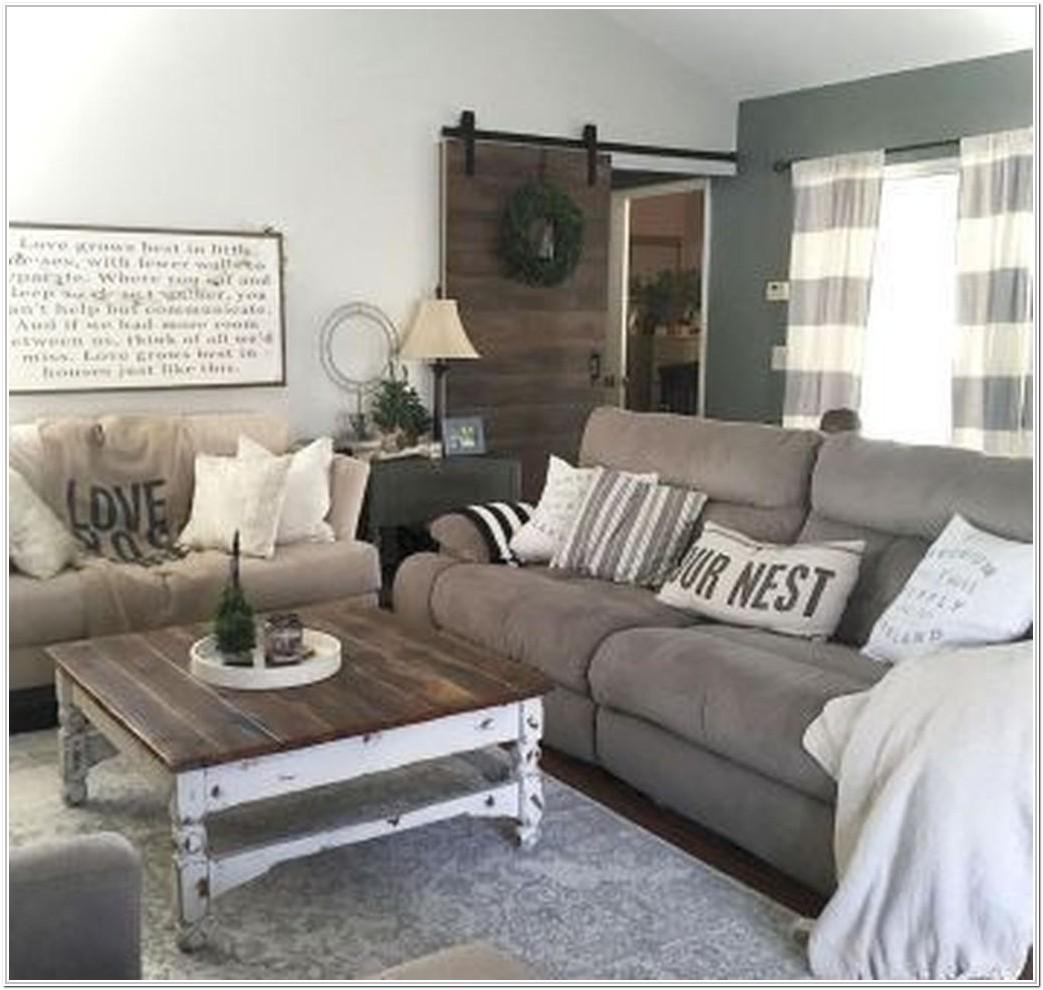 Rustic Living Room Ideas 2019