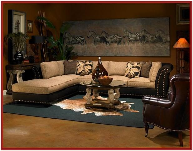 Safari Decor For Living Room