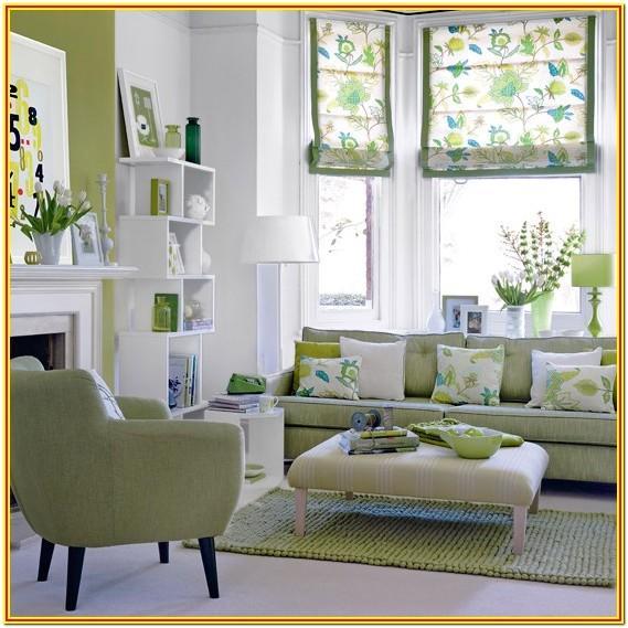 Seafoam Green Mint Green Living Room