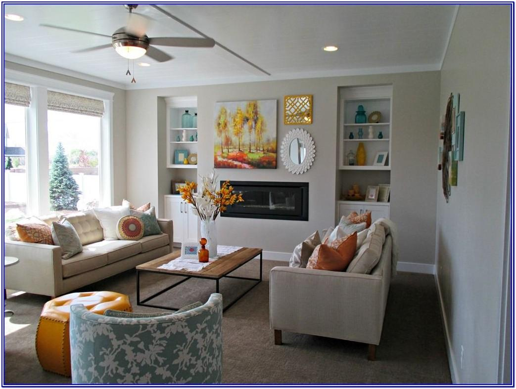 Sherwin Williams Agreeable Grey Living Room