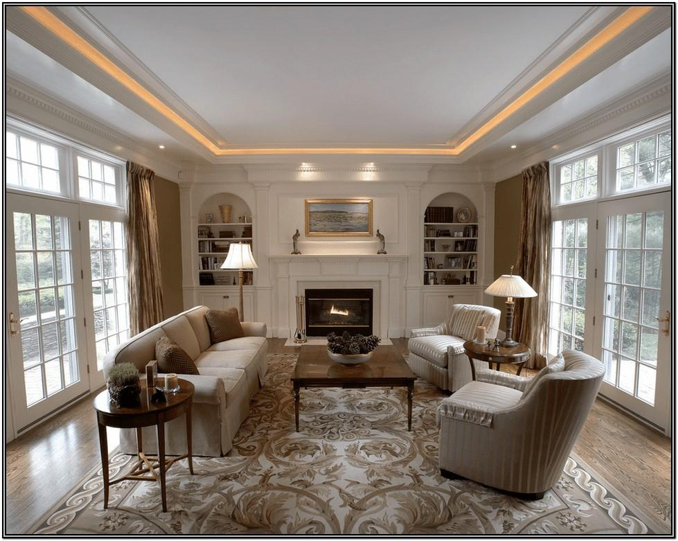 Simple Living Room Ceiling Lighting Ideas