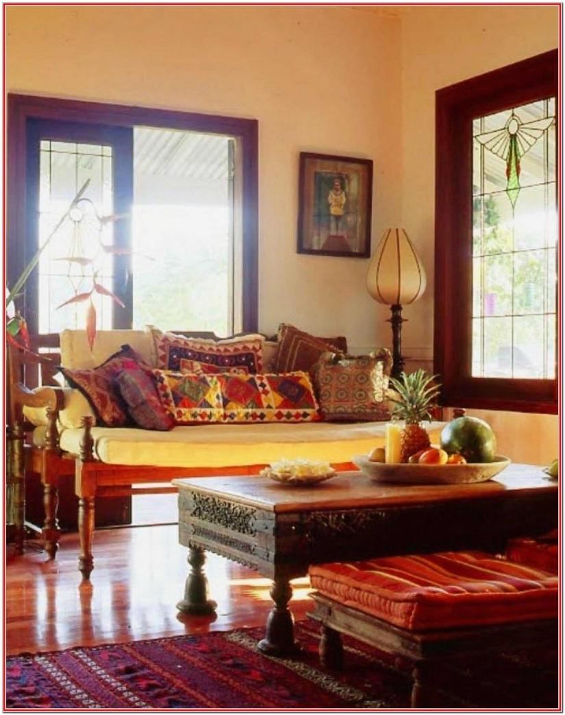 Simple Living Room Designs Indian Style