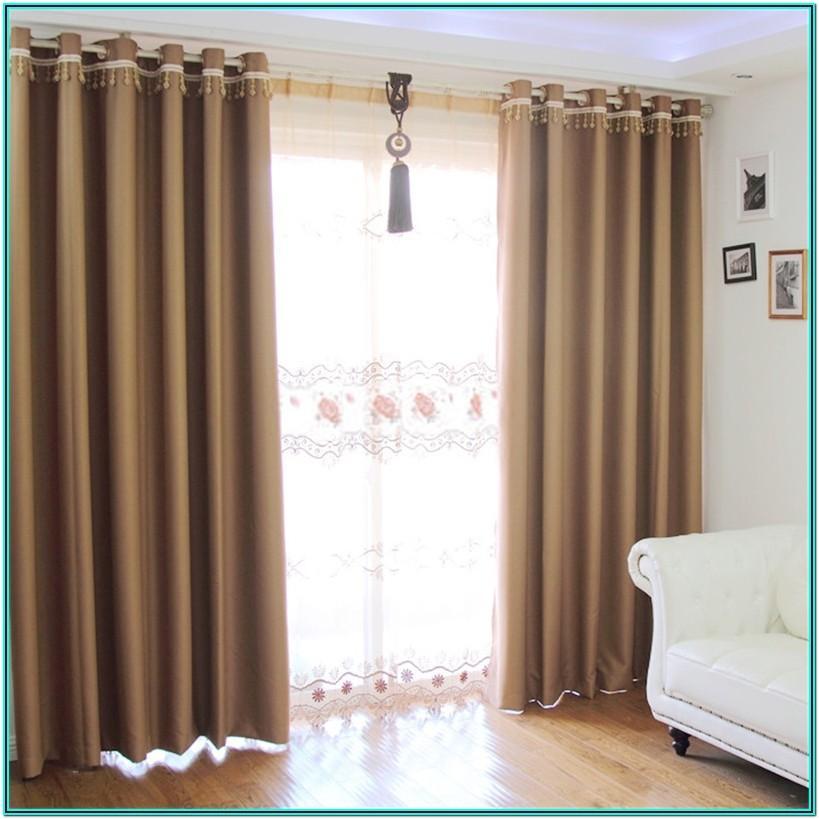 Simple Modern Living Room Curtain Ideas