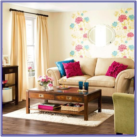 Small Bright Colorful Living Room Ideas