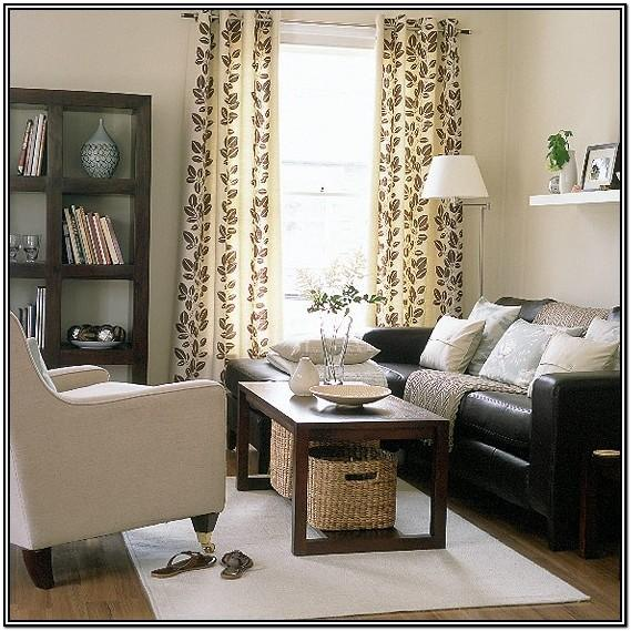 Small Dark Brown Couch Living Room Ideas