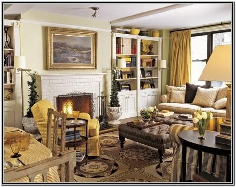 Small French Country Living Room Ideas