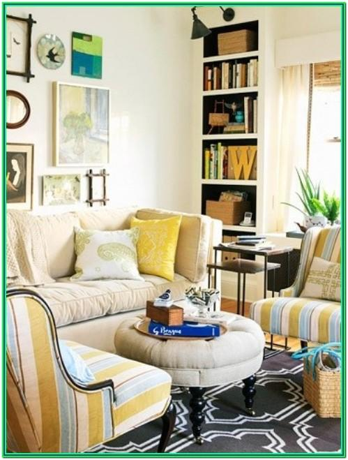 Small House Living Room Design For Small Space