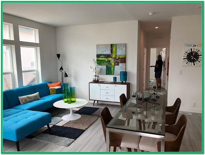 Small House Small Space Small Living Room Dining Room Combo