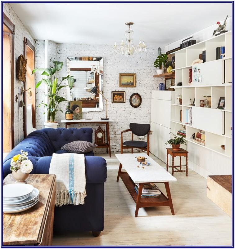 Small Space Big Couch Small Living Room