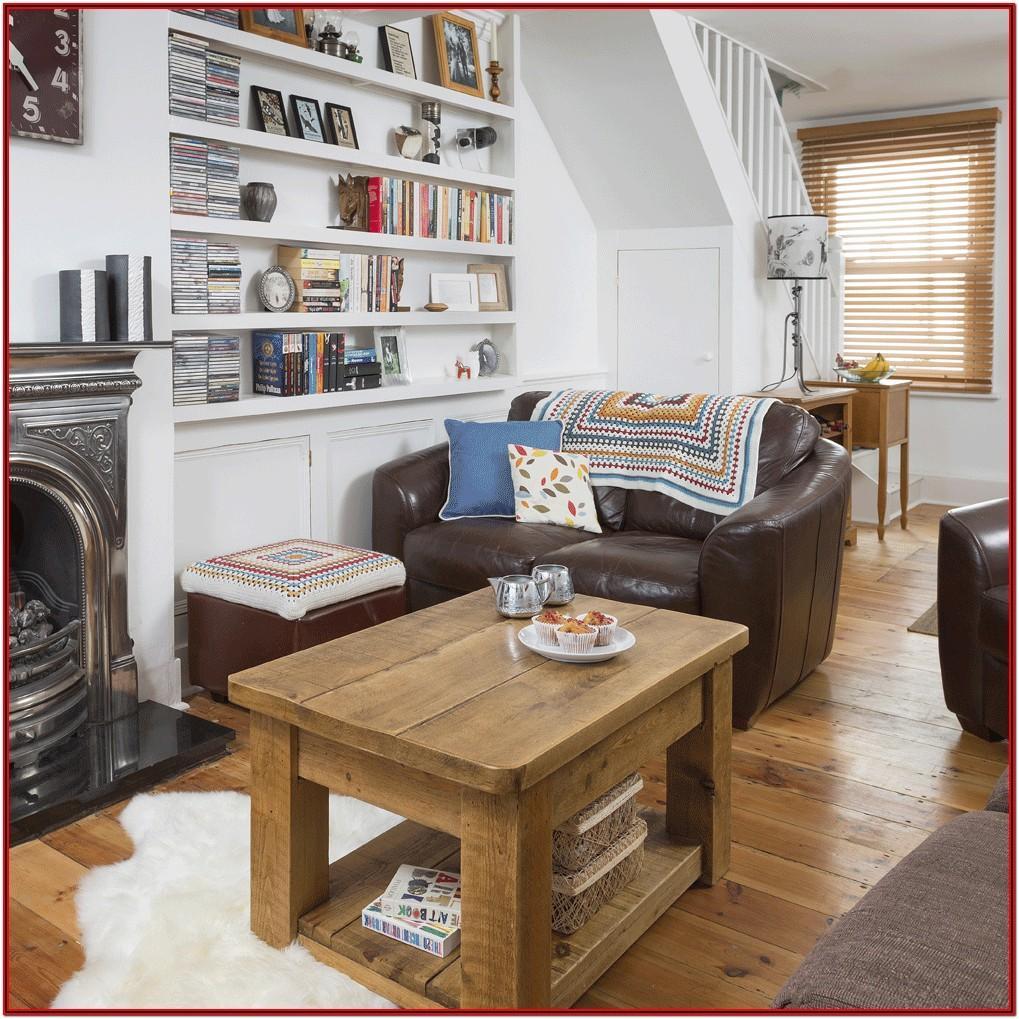 Small Space Living Room Design Idea