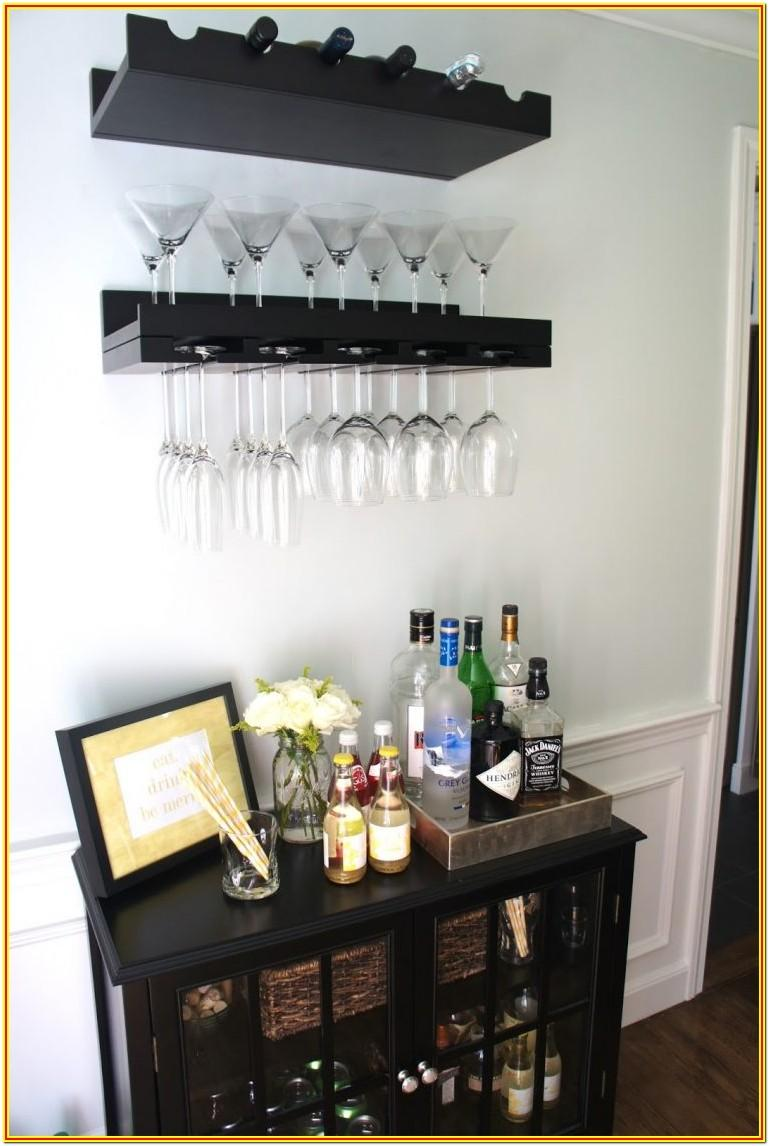 Small Space Mini Bar Designs For Living Room