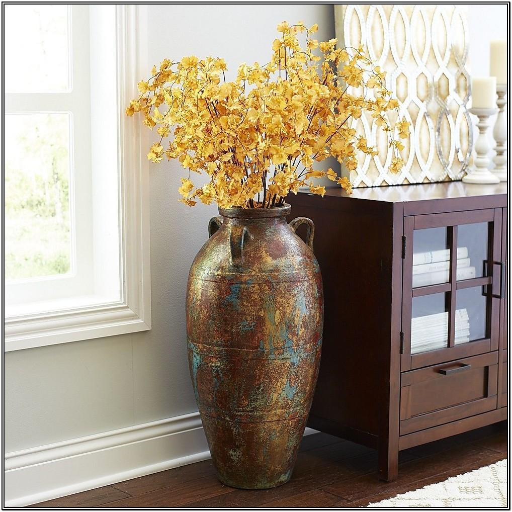 Tall Big Flower Vase For Living Room