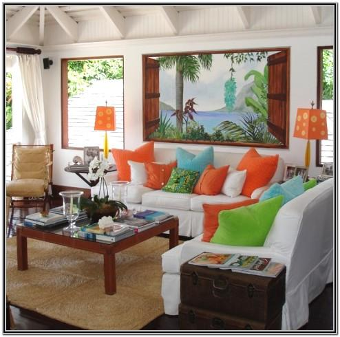 Tropical Decorating Ideas For Living Rooms