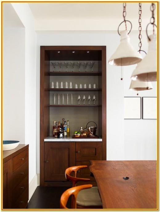 Unique Mini Bar Designs For Living Room