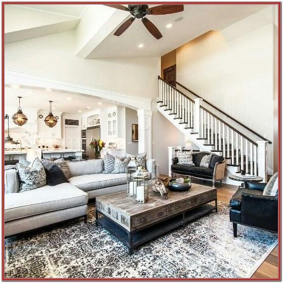 What Size Rug For Living Room With Sectional