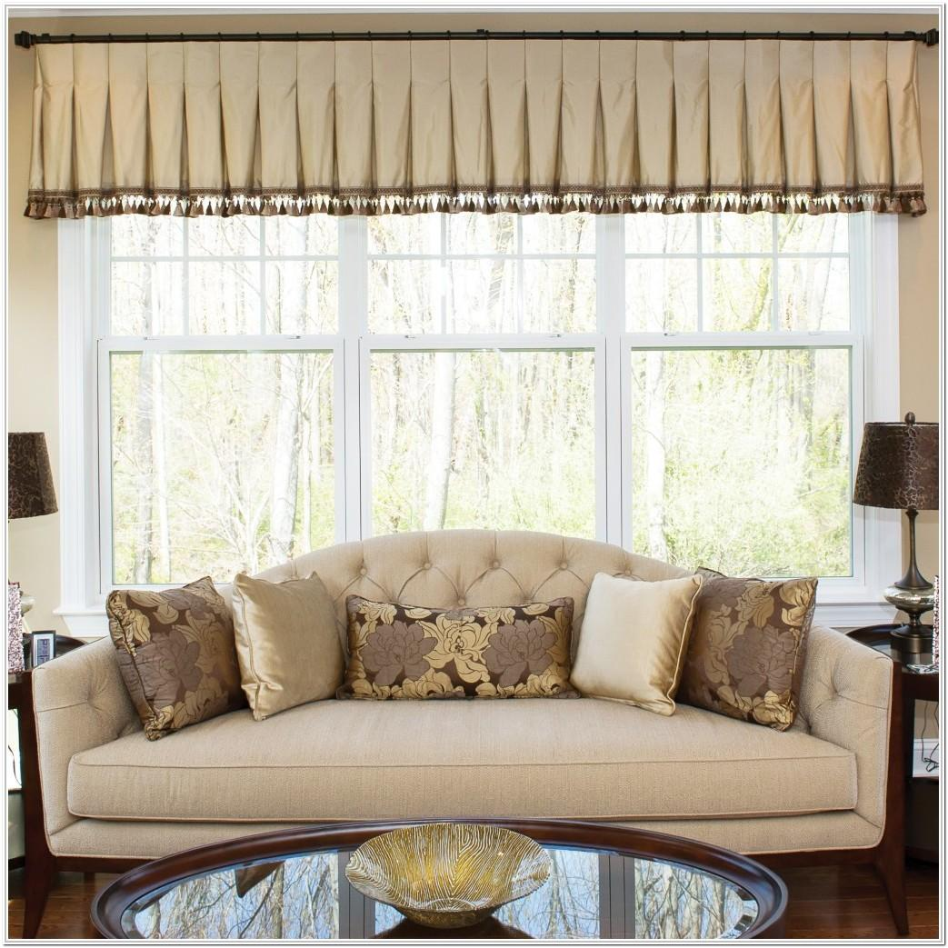 Window Valance Ideas Living Room