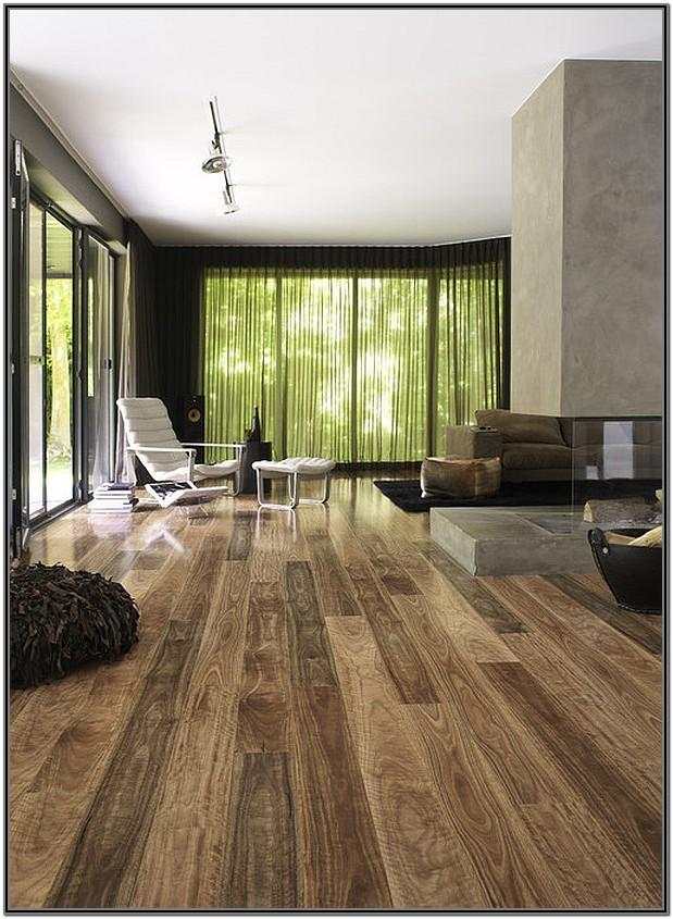 Wood Living Room Floor Design