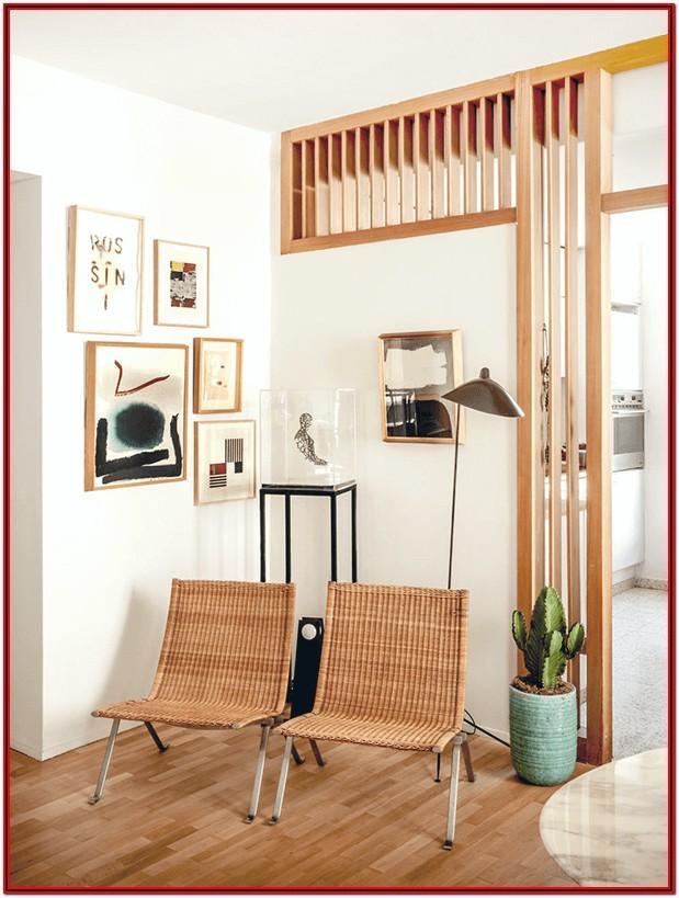 Wooden Kitchen Living Room Divider Ideas