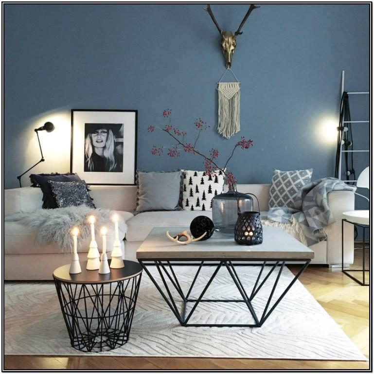 Wooden Living Room Center Table Decoration Ideas