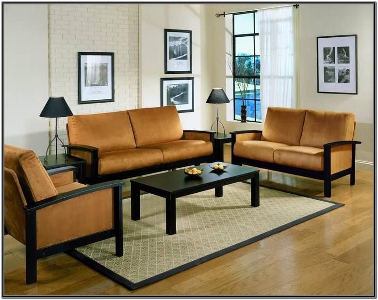 Wooden Living Room Furniture Sofa