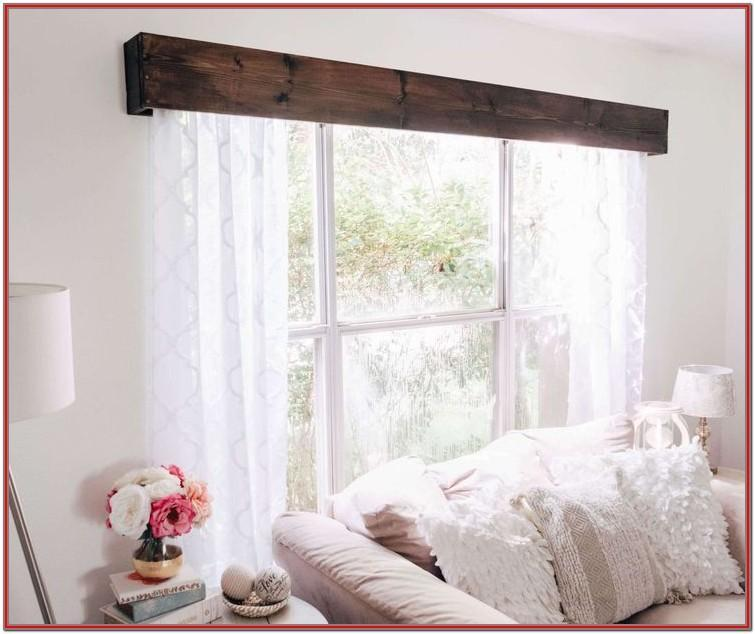 Wooden Valances For Living Room Windows