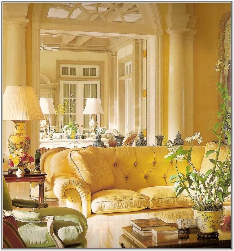 Yellow Couch Living Room Designs