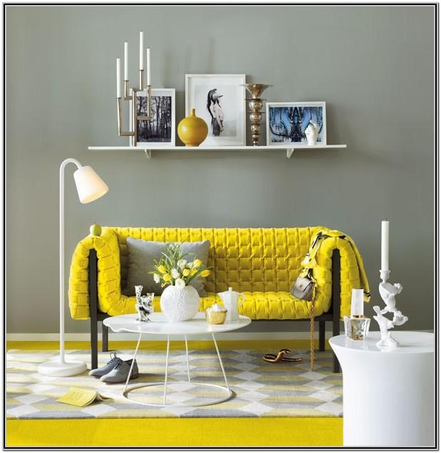 Yellow Couch Living Room Ideas