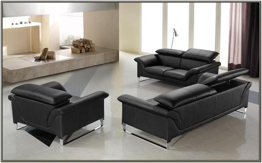 100 Genuine Leather Living Room Sets