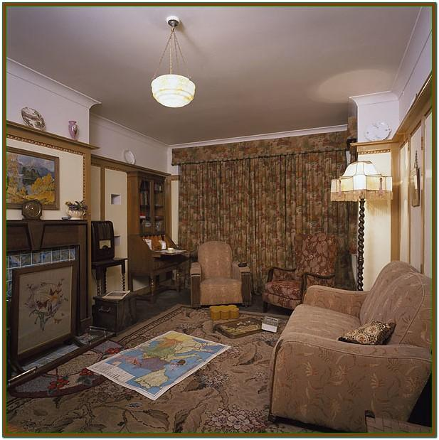1940s Decorating Style Living Room