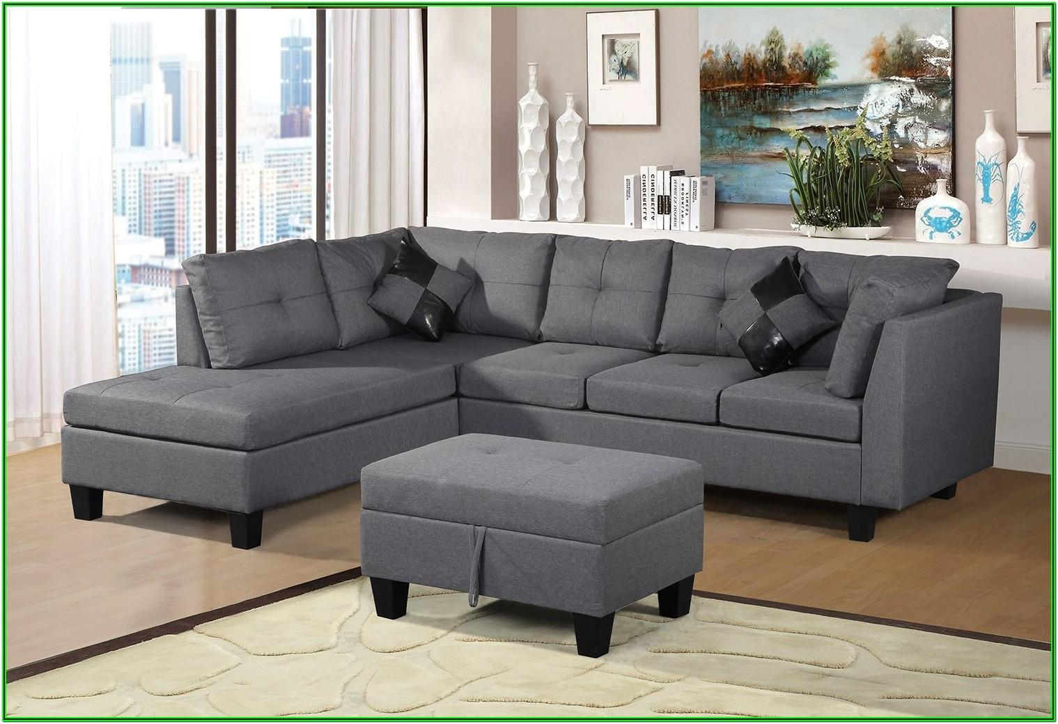 3 Piece Kimberly Living Room Collection Sectional