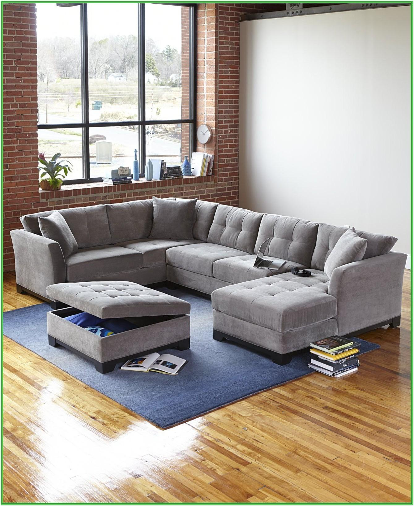 3 Piece Living Room Set With Chaise