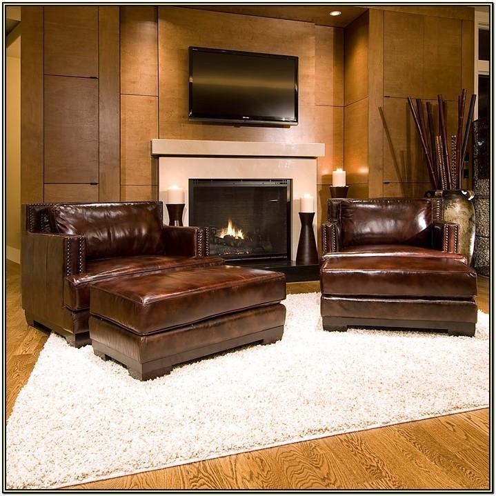 5 Piece Leather Living Room Set