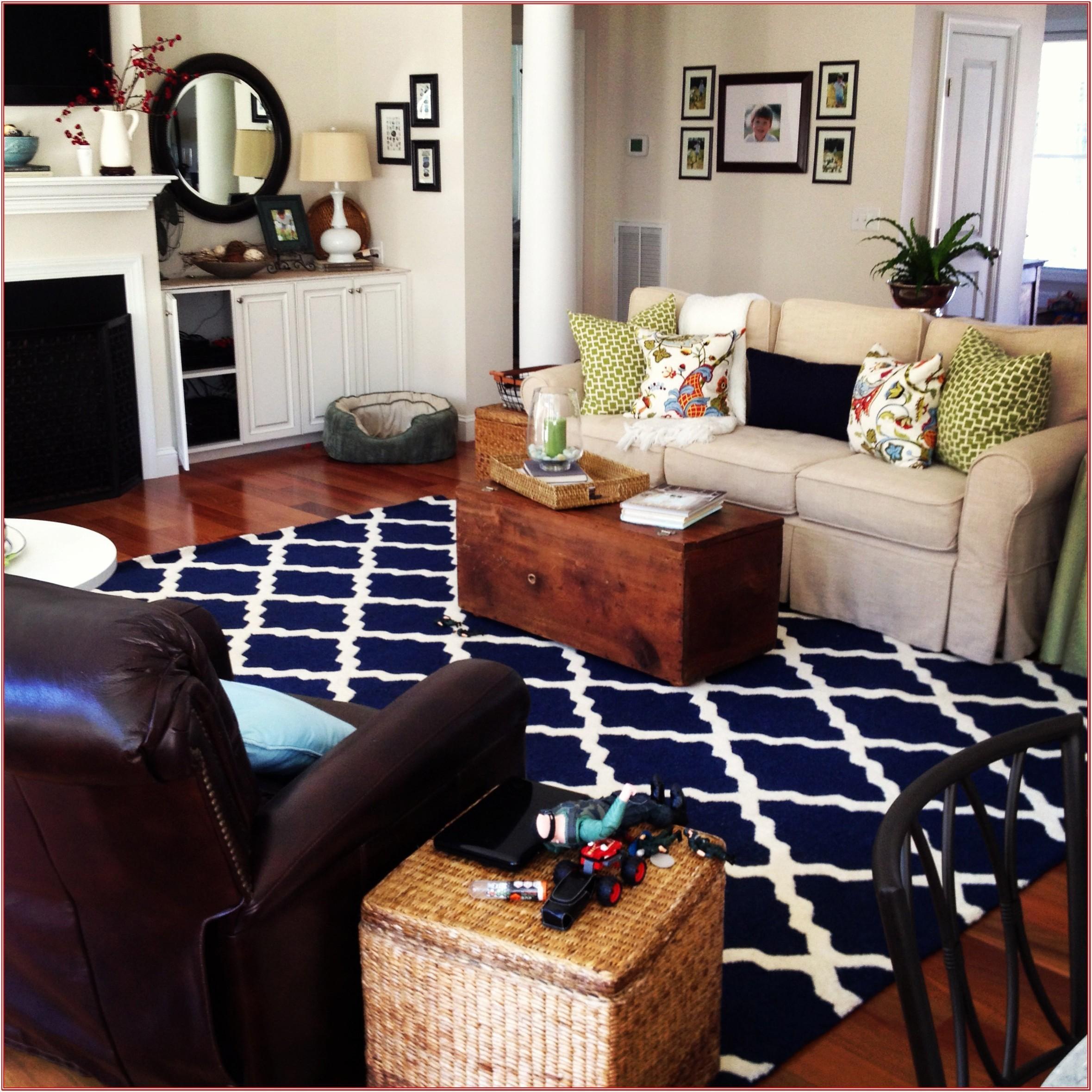 5 X 7 Rug In Living Room