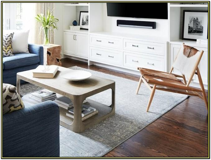 8 X 10 Rug Placement Living Room