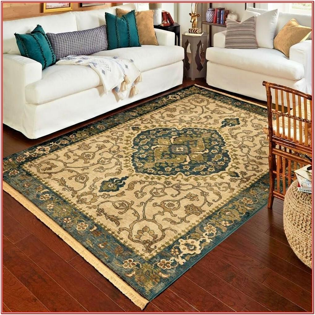 8x10 Rug In Small Living Room