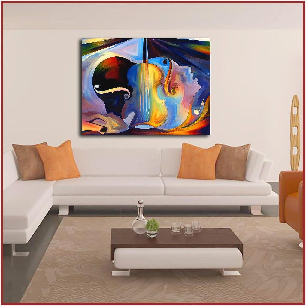 Abstract Wall Pictures For Living Room