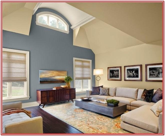 Accent Wall Living Room Paint Colors