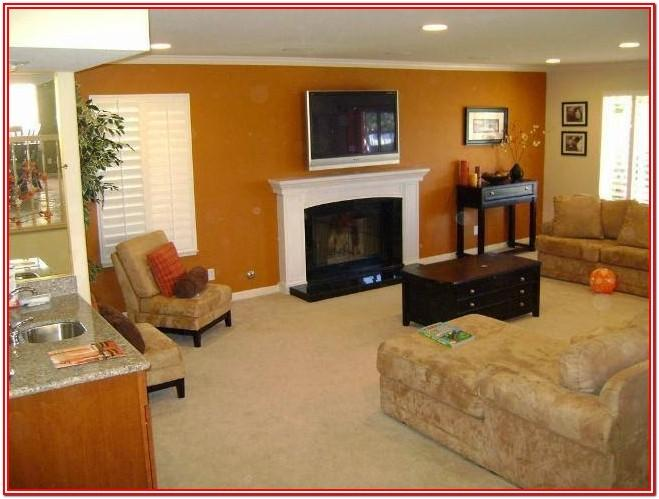 Accent Wall Living Room Paint Design Ideas