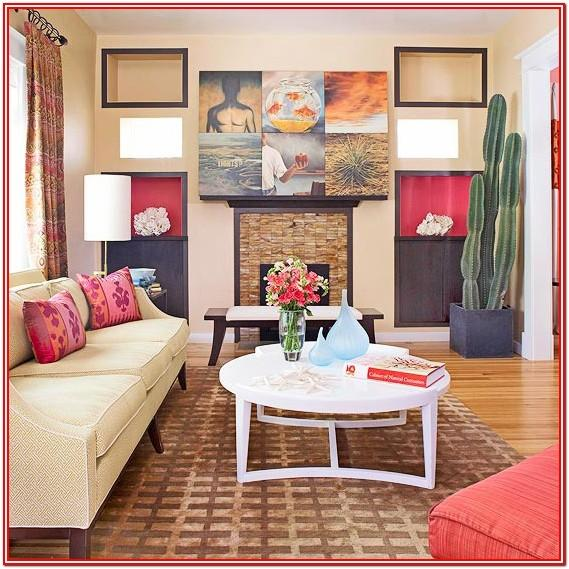 Adding Color To Living Room