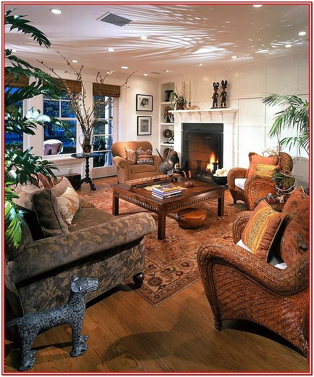 African American Inspired Living Room