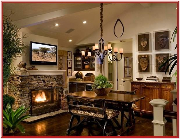 African Inspired Living Room Designs