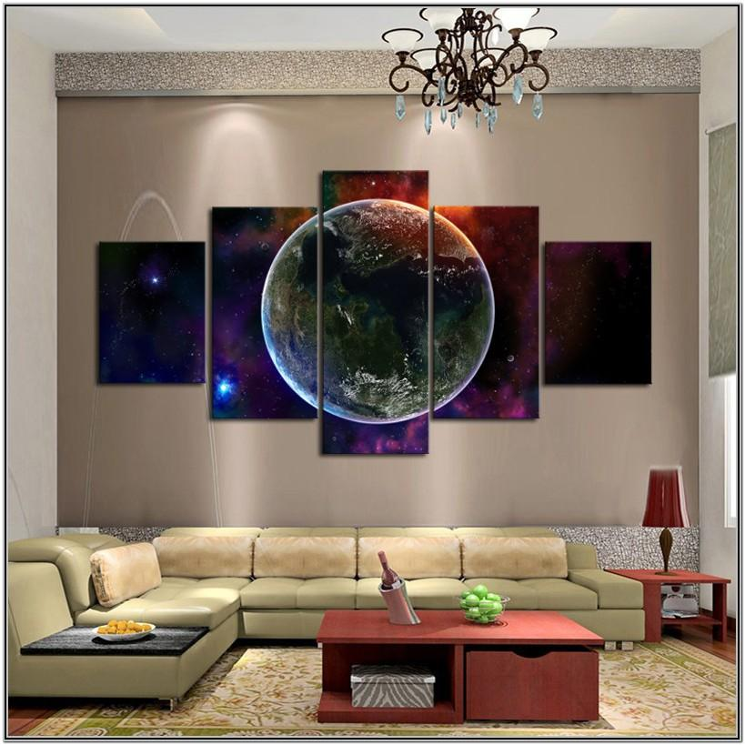 Amazing Creative Wall Painting Ideas For Living Room